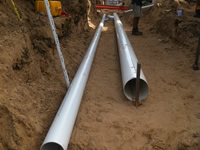 Laying Pipes